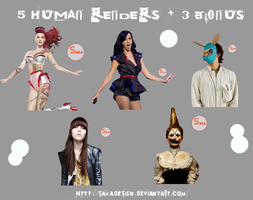 Render Pack Human mas 3 Bonus by sakaDesign
