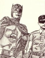 Batman and Robin by TBabing