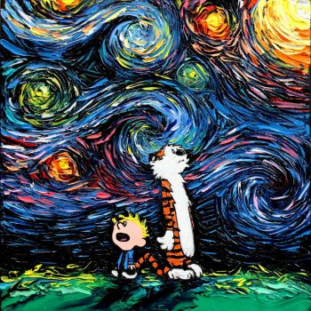 What If van Gogh Had An Imaginary Friend? by sagittariusgallery