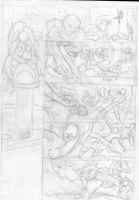 h.com Page 9 rough pencils by Jowybean