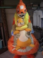 Floatzel fursuit 2 by ensiryu