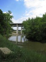Bend in the Cuyahoga i 271 by OhioErieCanalGirl