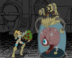 Metroid Colorflats by Implicit-Bookcarrier