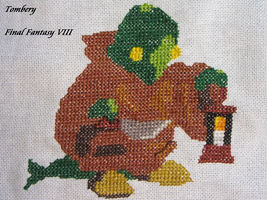 Tombery (FF VIII) - Cross Stitch by Melian-Vidumavi
