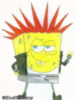 SpongeBob SquarePants: Punk by BlueHatTimmy