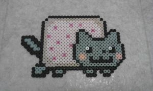 Nyan Cat Bead Sprite by Boognish2009