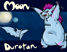 Blizzcon badge for Moon by SugarBonBonne