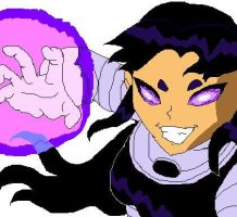 Blackfire by deviant-comic-artist