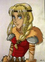 HTTYD 2: Astrid by theARTgal
