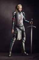 Warrior by JosiahReeves