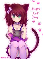Happy Cat Day by Meawsy