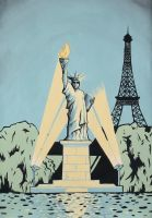 Statue of Liberty - Paris, France by DarkDorArt