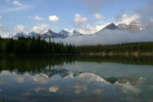Hector Lake by CaroleLee