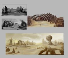 Data-Fly: Salted Sands Concept by ORiGO-GAMES