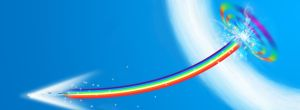 Sonic Rainboom Wallpaper by Rekkin92