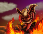 Flareon's Flaming Personality by Stealfang-FP
