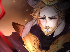 Asgore Dreemurr by Rivaille2520
