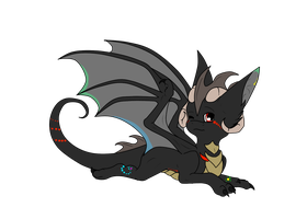 chibi dragon by Anais-thunder-pen68