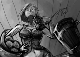 Nira Request WIP by Andream0219