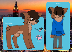 Anthony/Oli Refrence Sheet by huskynugget