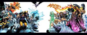 X-men Dual screen WP by ragnarok2k3