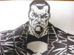 Punisher Close Up by FanBoy67