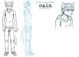 Cain ref sheet unfinished by oomizuao