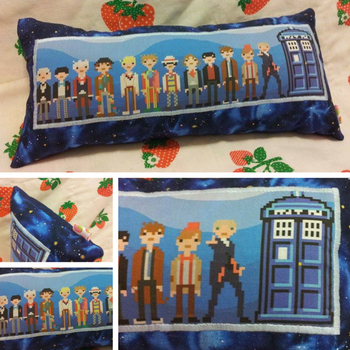 Whovians by the Dozen by SillinessofSewing