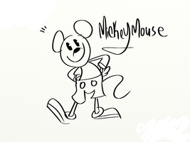 Mickey Mouse by cartoonwho