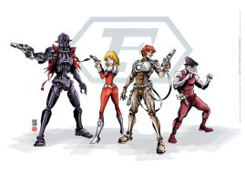captain future  capitan futuro by lordnecro