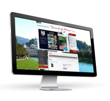 Routes Through The Sound Of Music Land / Webshop by pinzweb