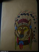 Native Quebec Wolf by Lorfis-Aniu
