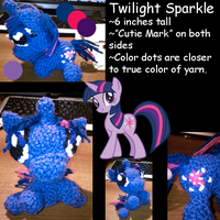 Twilight Sparkle Amigurumi by JwalsShop