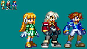 Some MMZX style OC's by AlucardX60