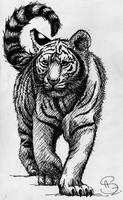 CP: White tiger's cub for RiseOfGreenBean [EDIT] by MusicAndArtItsMyLife