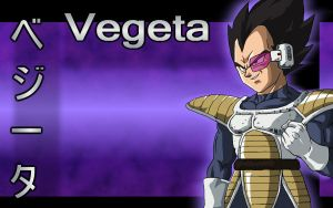 Vegeta Oldschool Background by RuokDbz98