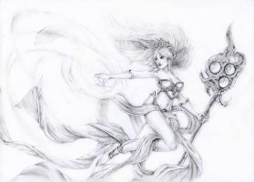 Janna Storm's Fury by BluePaintArt