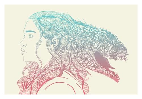 Mother of Dragons by MessyPandas