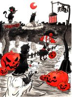 Halloween Party by Pessaro
