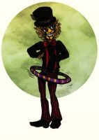 An Automaton and His Hula Hoop by Trollki