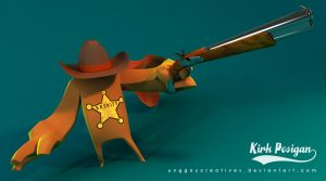 Sheriff WIP 1 by unggoycreatives
