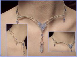 Elvish wedding choker by Nanethiel