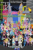 Winx Club, Precure and Megaman Crossover the Movie by isaacyeap