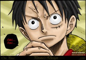 Luffy - One Piece by reypirata