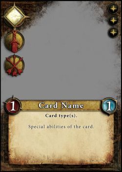 Card Layout for a game. Personal project. by Araknophobia