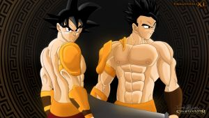 Father and Son by Spartan1028