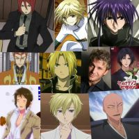 some of the faces of Vic Migniona by shidoni-chan