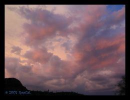 Lavender Shades Monsoon Clouds by RooCat