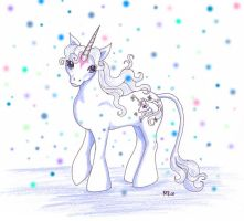 My little Last Unicorn by Neri-chan