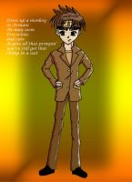 Son Goku: Chimp in a Suit by TheAstrica
